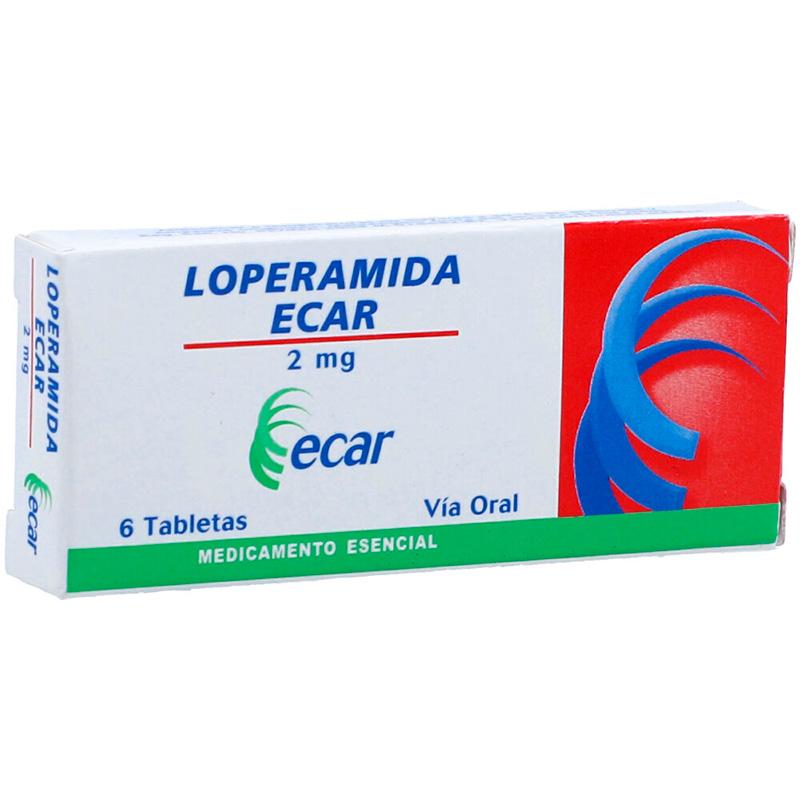 LOPERAMIDA 2MG X 6TAB.EC
