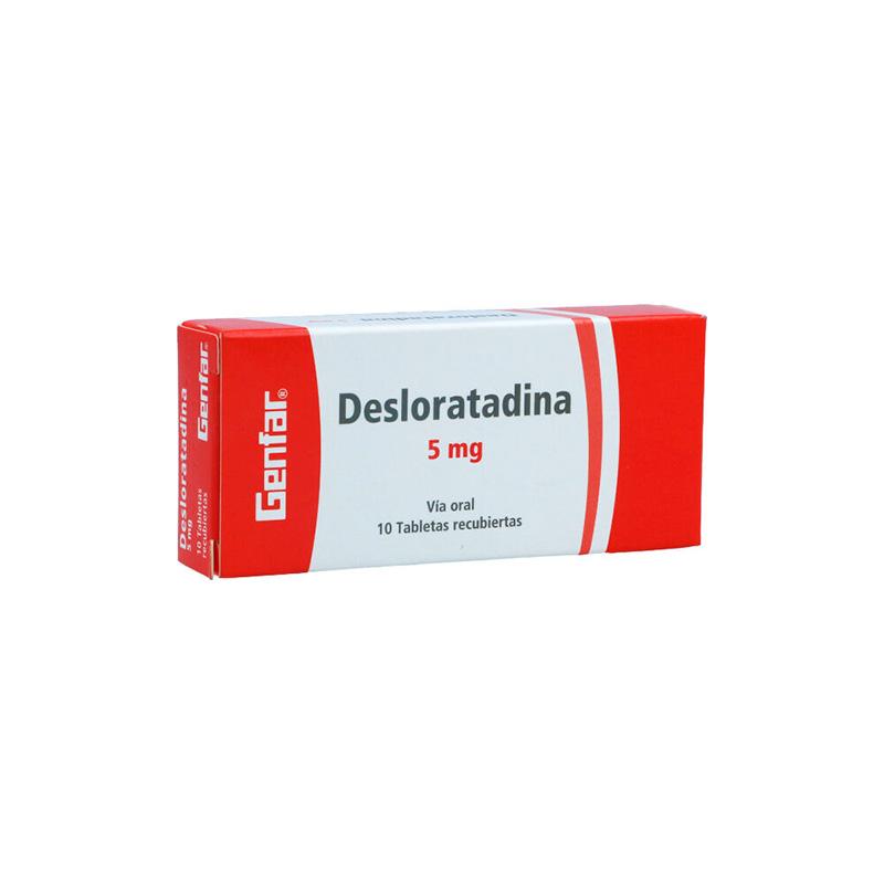 DESLORATADINA 5MG X 10TAB. GF