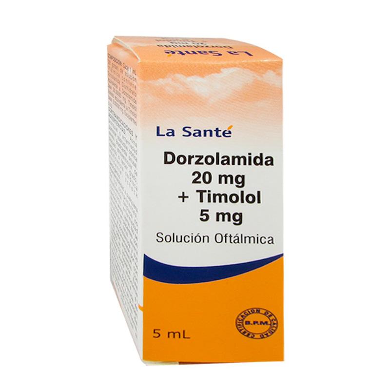 DORZOLAMIDA 20MG TIMOLOL 5MG X 5ML.LS