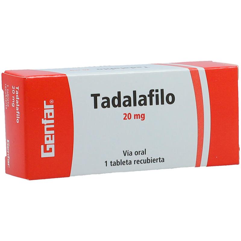 TADALAFILO 20MG X 1TAB.GF