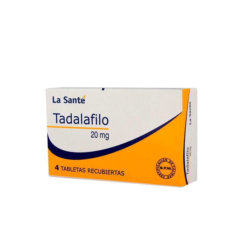 TADALAFILO 20MG X 4TAB LS