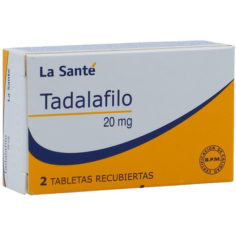 TADALAFILO 20MG X 2TAB.LS