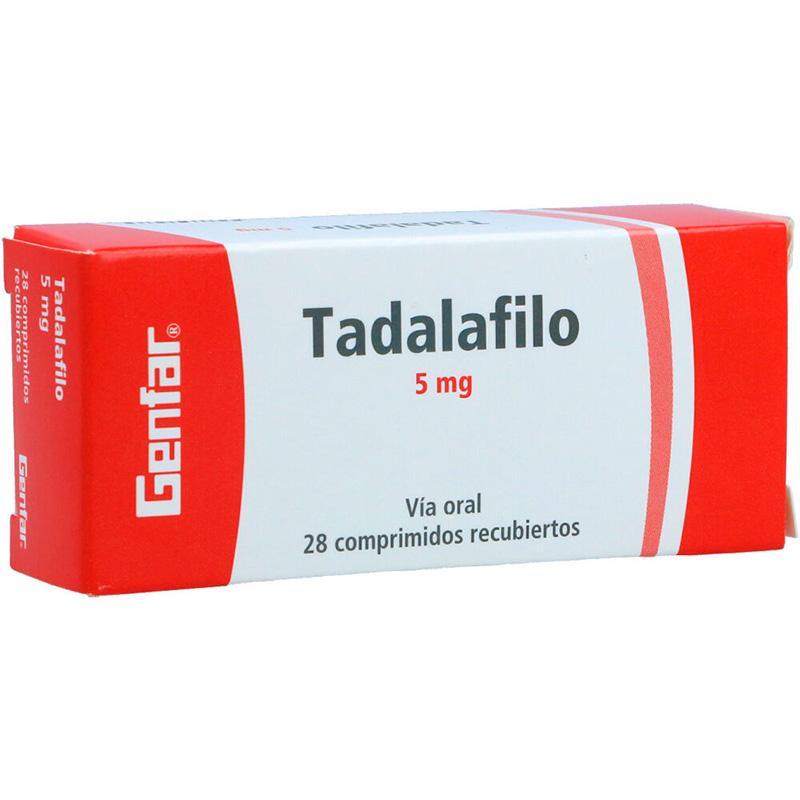 TADALAFILO 5MG X 28COMP.GF