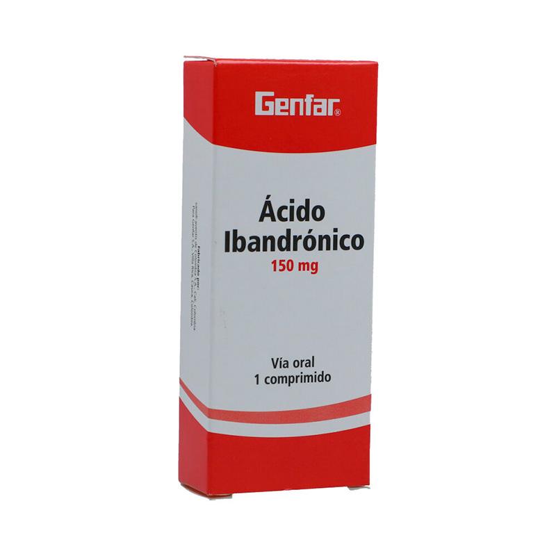 ACIDO IBANDRONICO 150MG X 1COMP GF