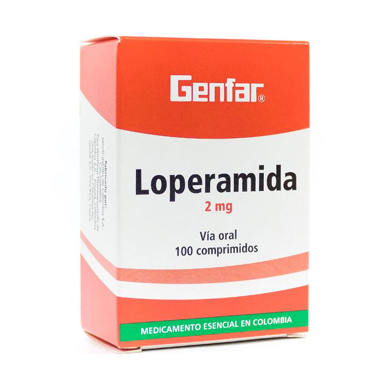 LOPERAMIDA 2MG X 100COMP GF