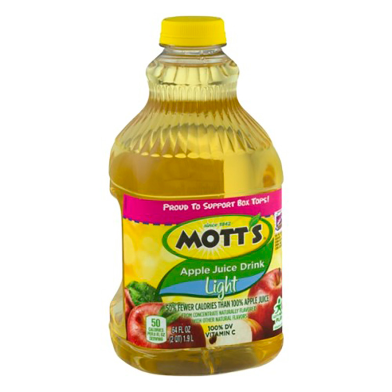 MOTTS APPLE JUICE DRINK LIGHT X 1.9L.FD