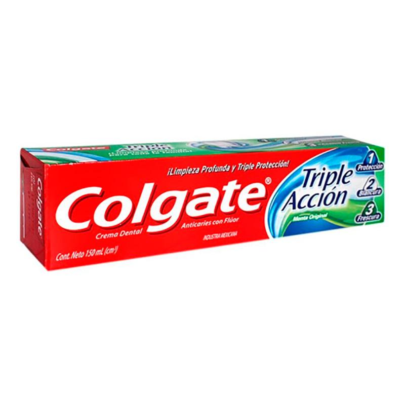 COLGATE TRIPL ACCIO X150 ML