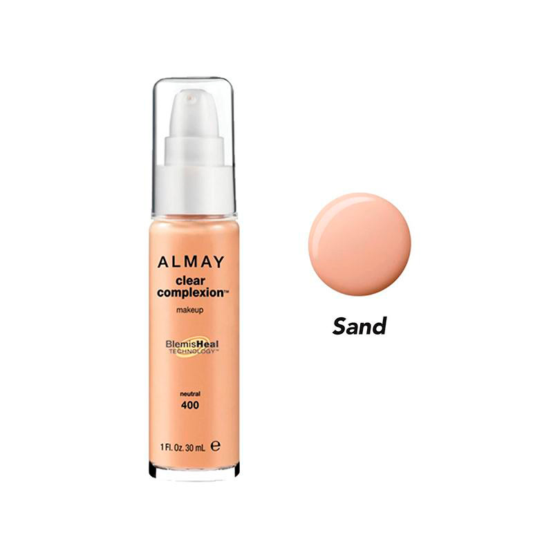 ALMAY CLEAR COMPLEXION BASE LIQ SAND BEIGE6 600 PR