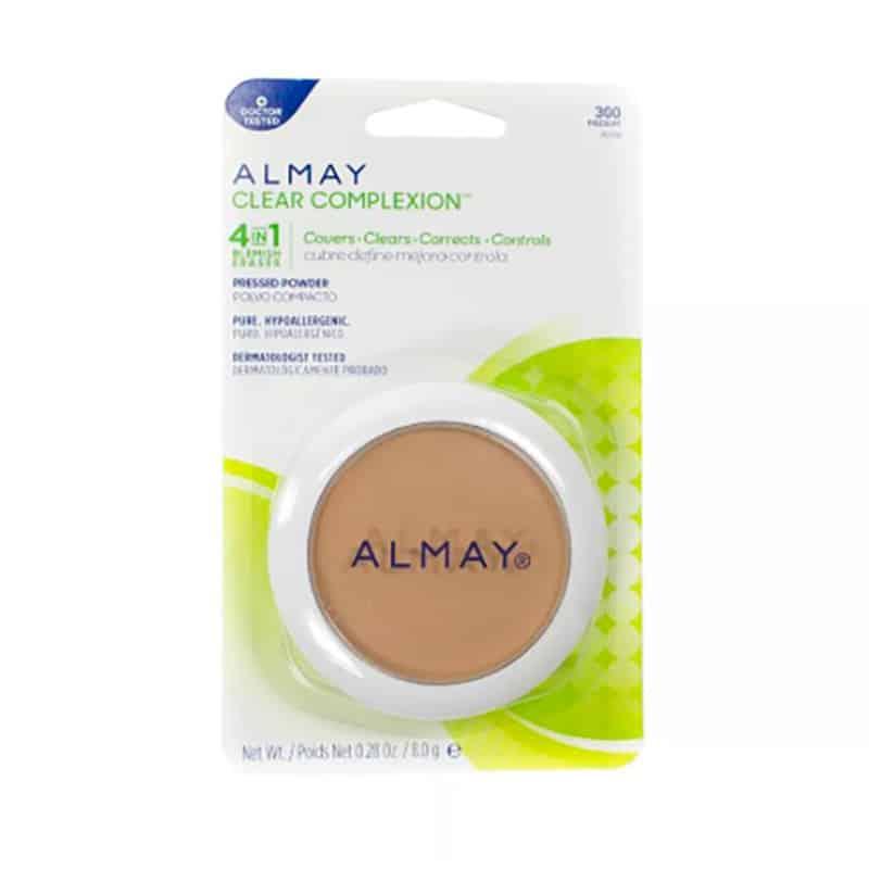 ALMAY CLEAR COMPLEXION POLVO COMP. 4EN1 X 8.0GR.PR
