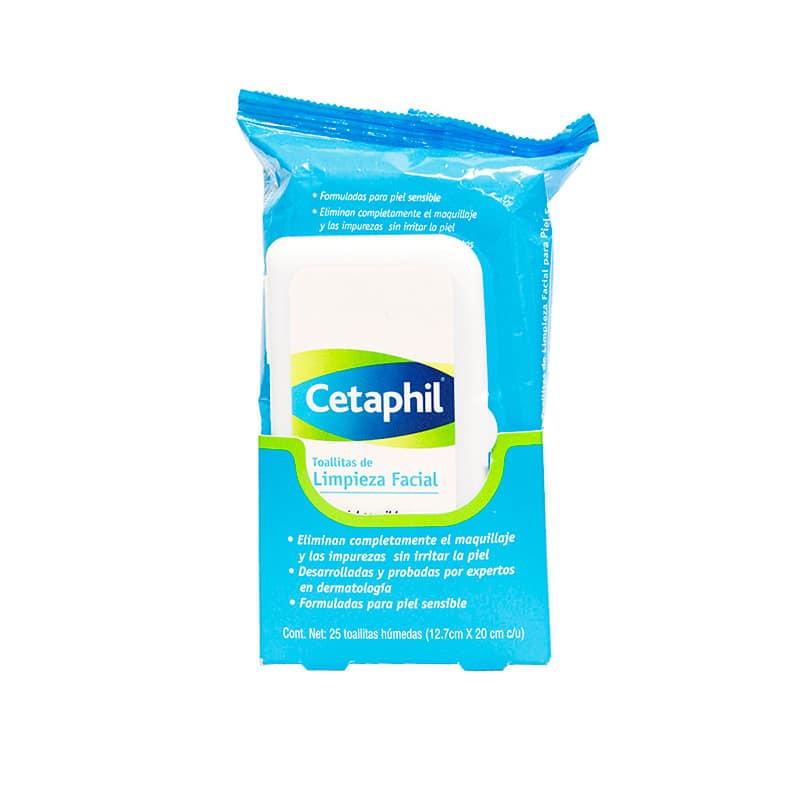 CETAPHIL TOALLITAS LIMPIEZA FACIAL CARA X 25UDS.GD