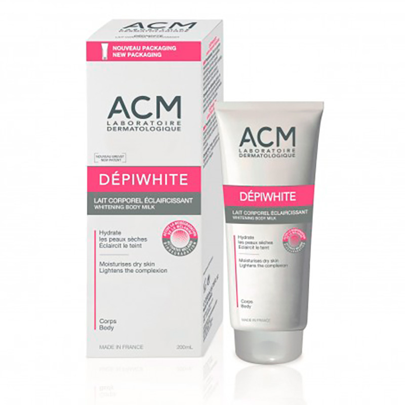 ACM DEPIWHITE LECHE CORPORAL ACLARANTE X 200ML.EP