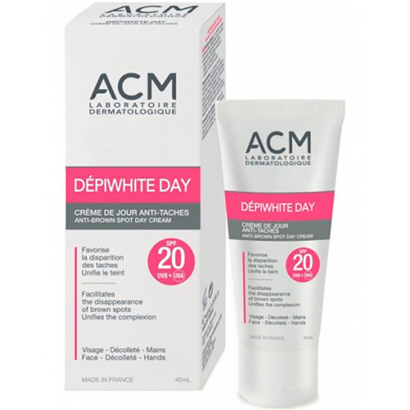 ACM DEPIWHITE DAY CREMA SPF20 X 40ML.EP