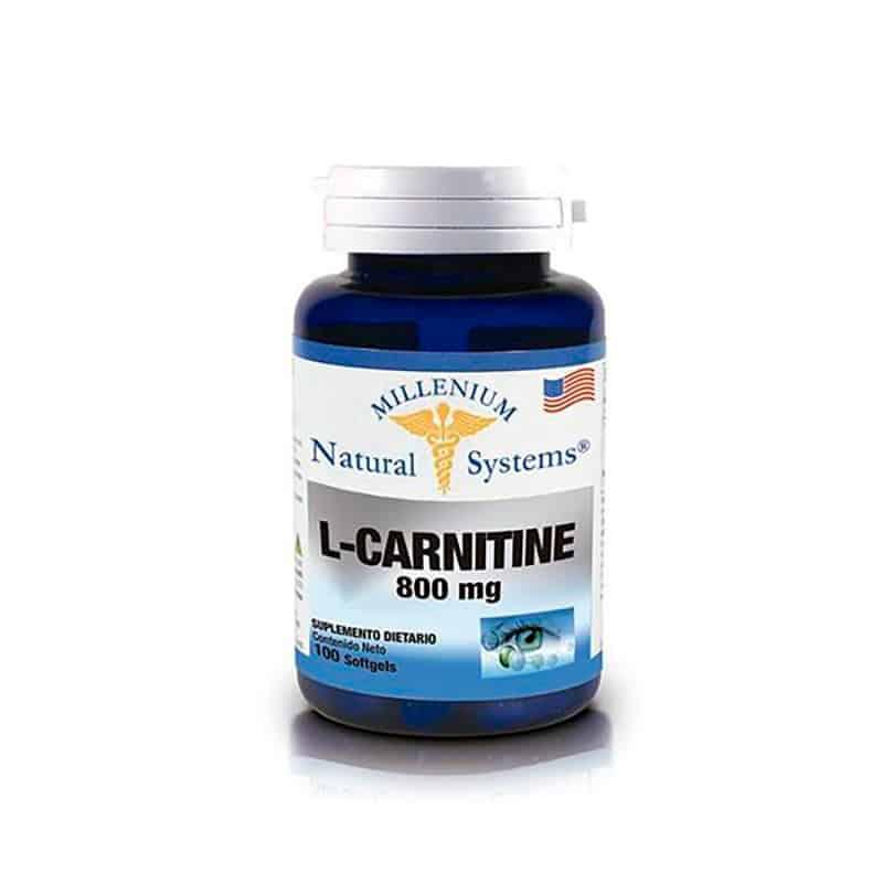 L-CARNITINE 800MG X 100CAP NS