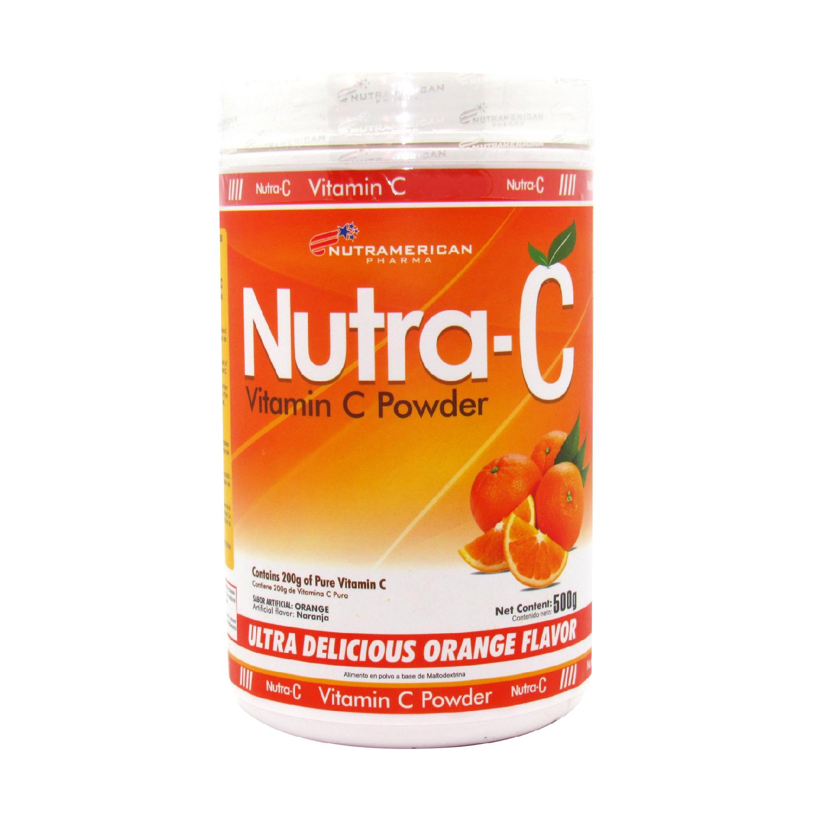 NUTRA C VITAMIN C POWDER X 500GR