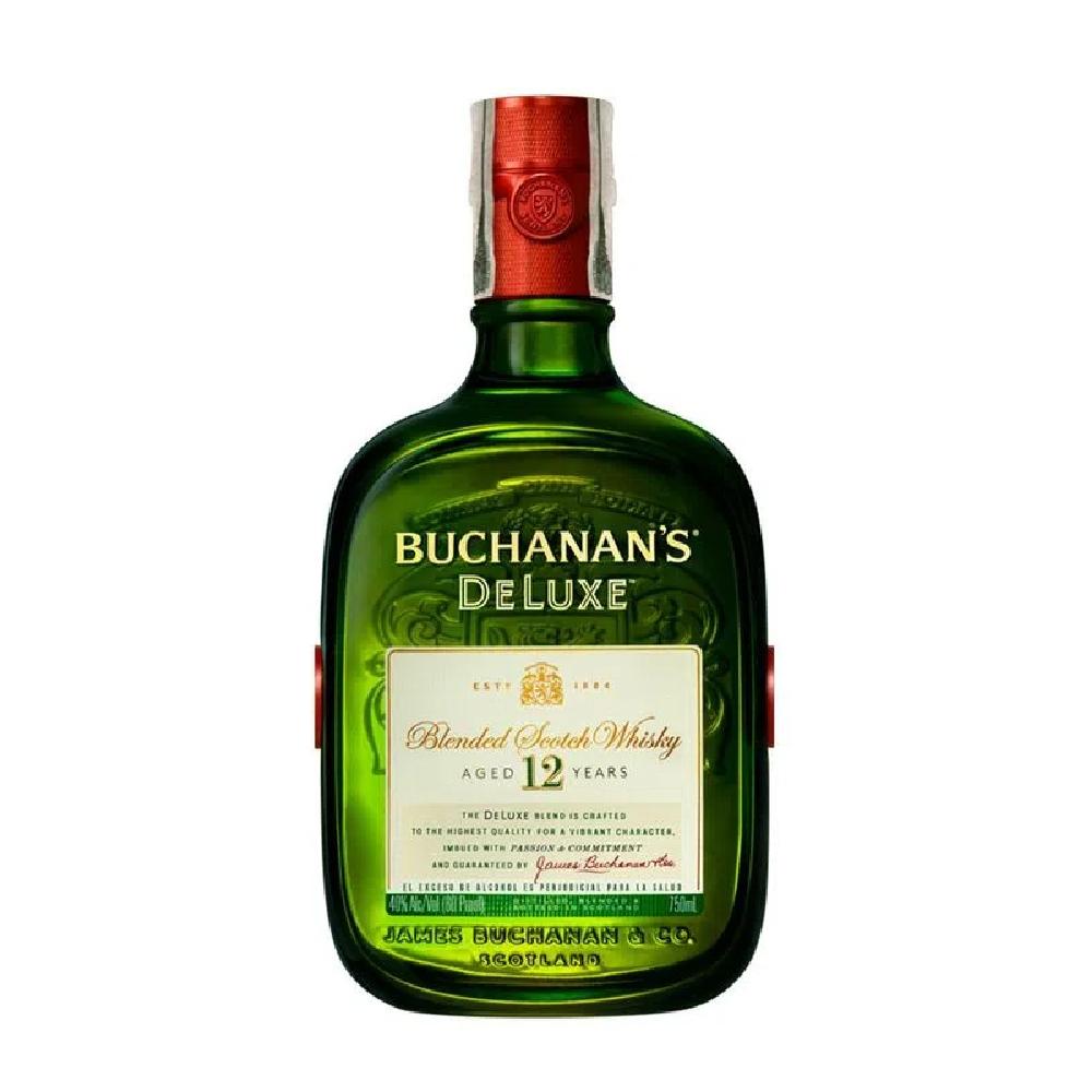 BUCHANANS WHISKY DE LUXE X 750 ML
