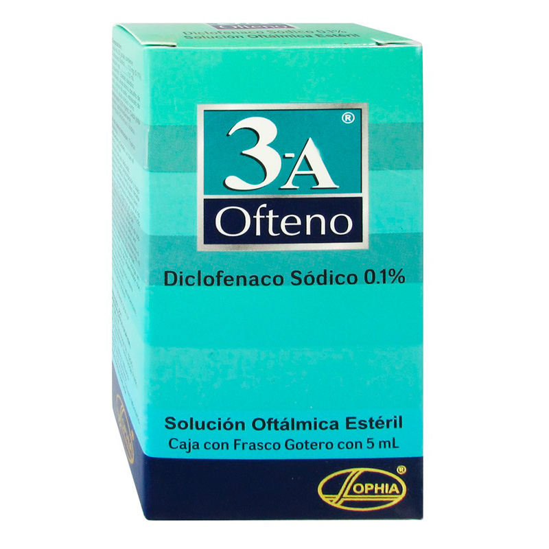 3-A OFTENO 0.1% SOL.OFTAL. X 5ML.SPH