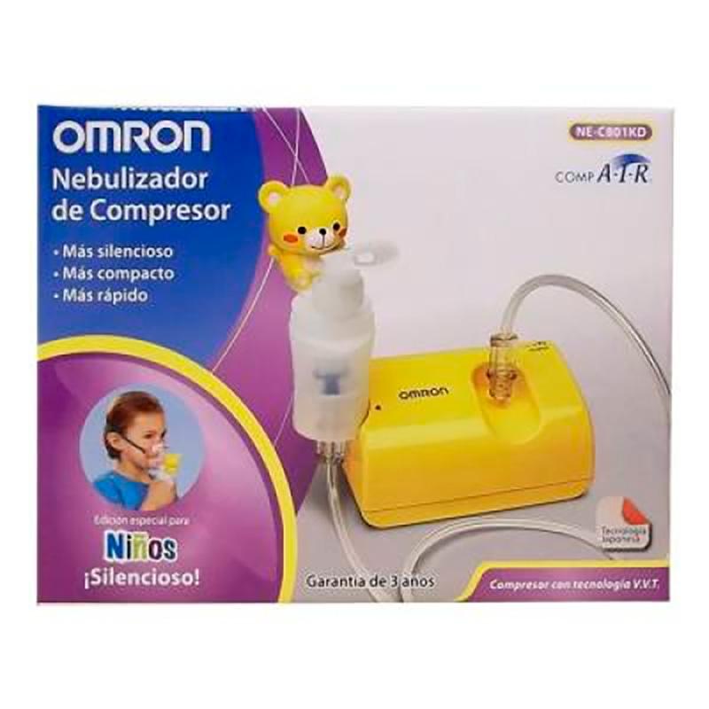 NEBULIZADOR DE COMPRESOR NIOS NE-C801KD OMRON