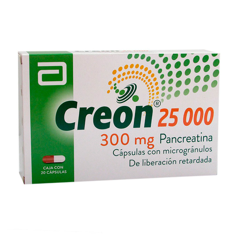 CREON 25000 X 20CAP.LF