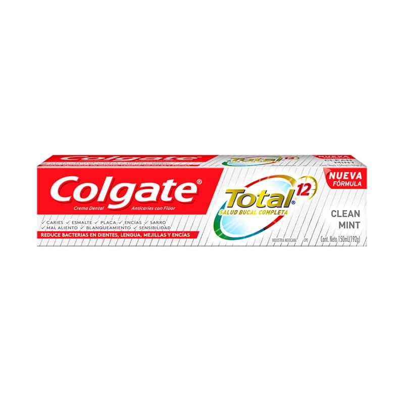 COLGATE CREMA TOTAL 12 CLEAN MINT X 150ML.CP