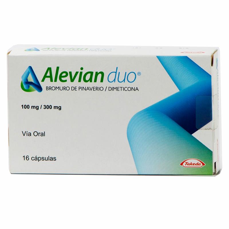 ALEVIAN DUO 100MG/300MG X 16CAP.TAK