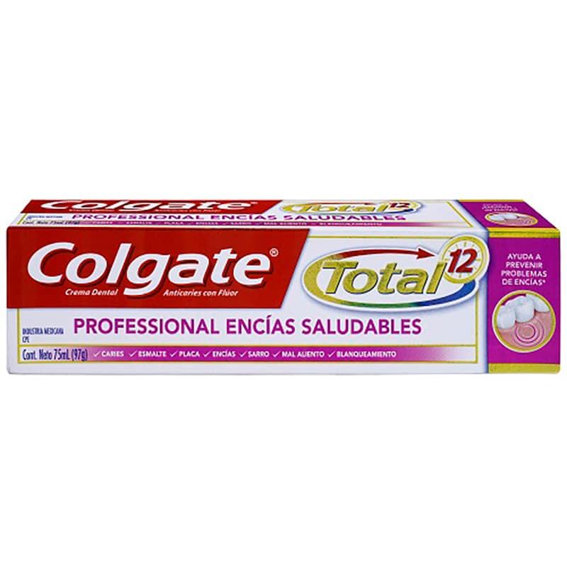 COLGATE TOTAL 12 PROF.ENCIAS SALUDAB. X 75ML.CP
