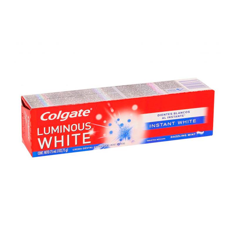 CRE.COLGATE LUMINOUS WHITE INSTANT 75ML