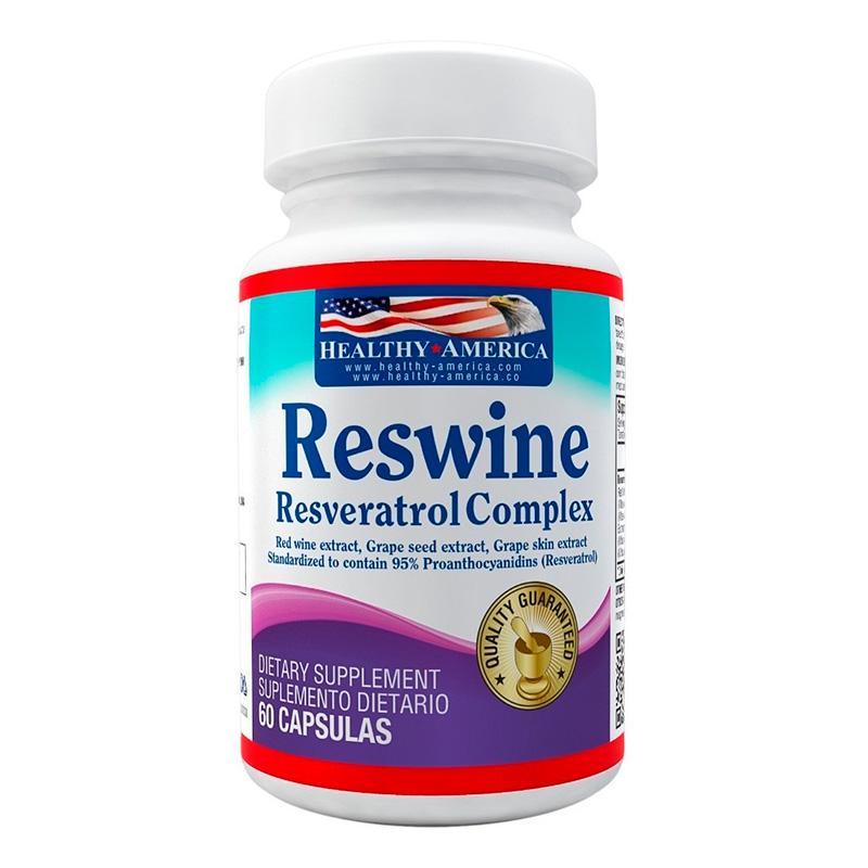 RESWINE RESVERATROL COMPLEX X 60TAB HA