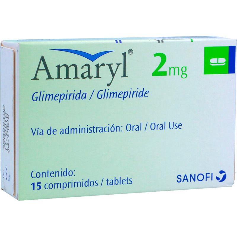 AMARYL 2MG X 15COMP.SN