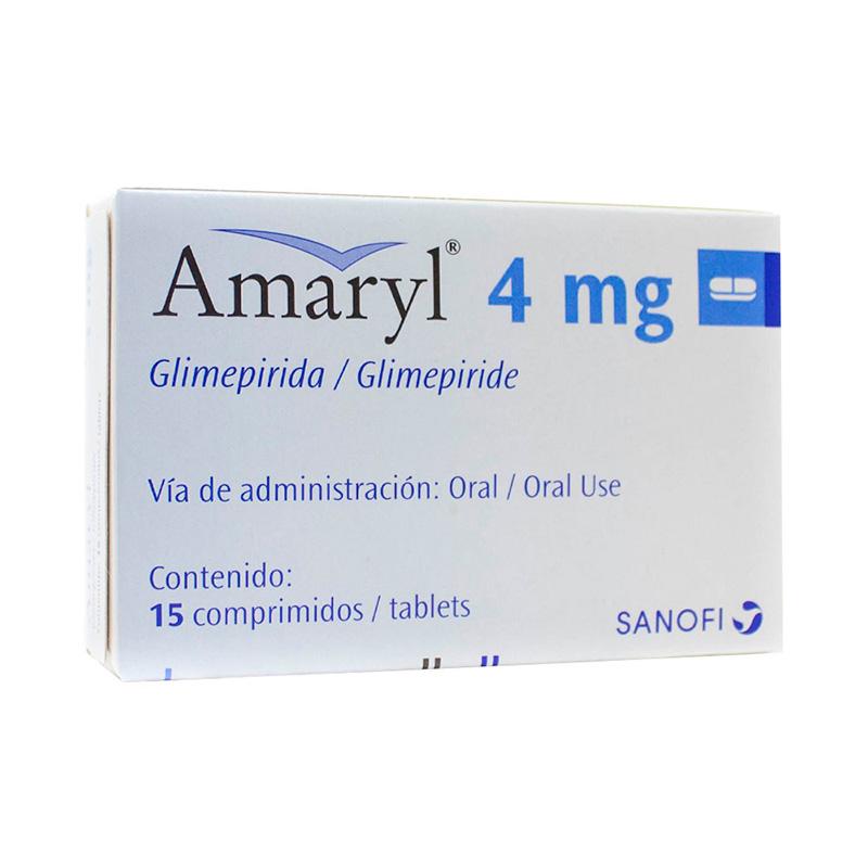 AMARYL 4MG X 15COMP.SN