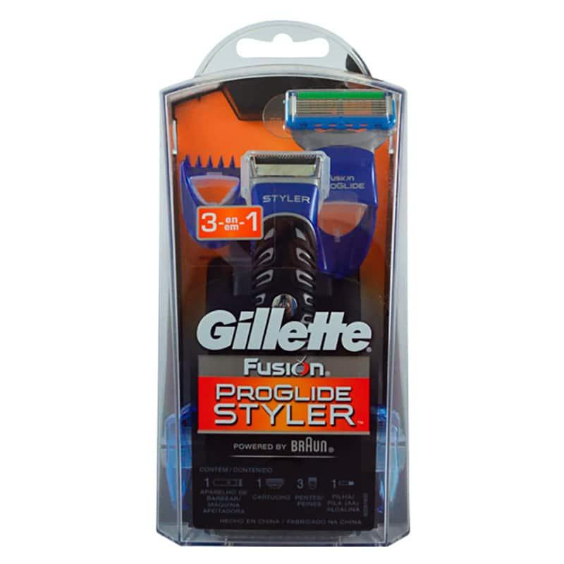 GILLETTE FUSION PROGLIDE STYLER 3EN1.P&G