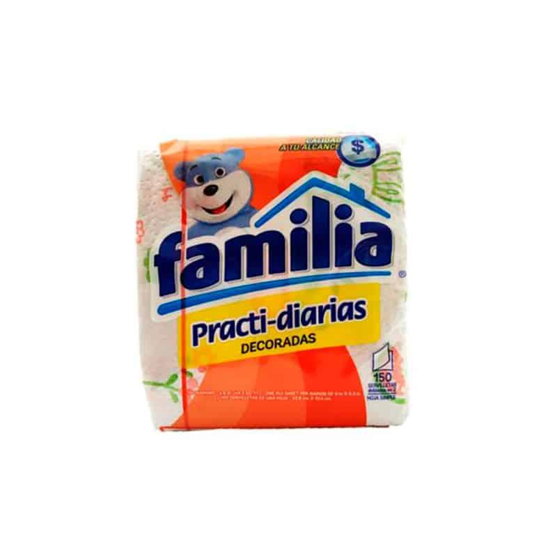 FAMILIA SERVILLETAS PRACTI-DIARIA X 150UDS.PF