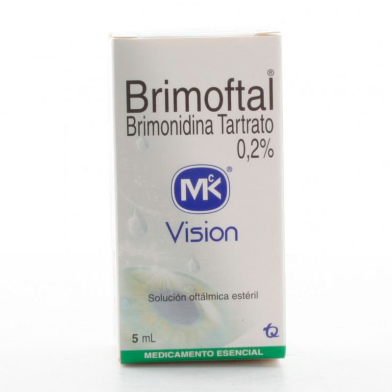 BRIMOFTAL 0.2% SOLUCION OFTALMICA X 5ML.MK