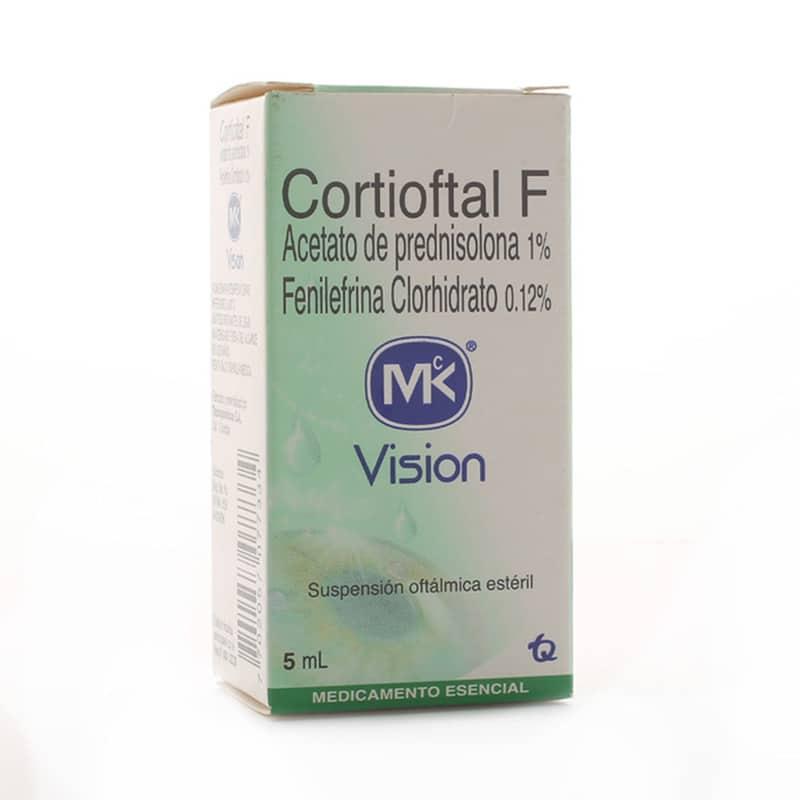 CORTIOFTAL F 1%/0.12% SUSP.OFTAL. X 5ML.MK