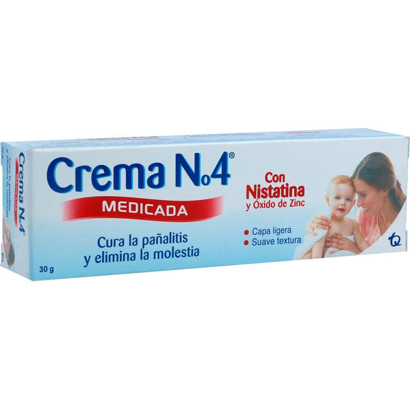 CREMA N°4 MEDICADA NISTATINA X 30GR.MK
