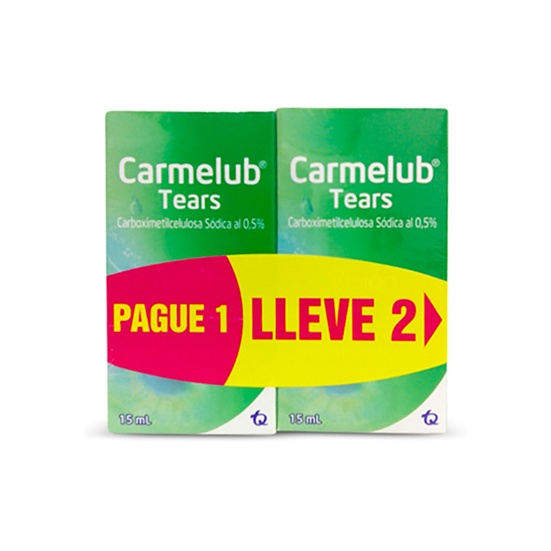 CARMELUB TEARS PAG.1 LLEVE 2 X 15ML TQ