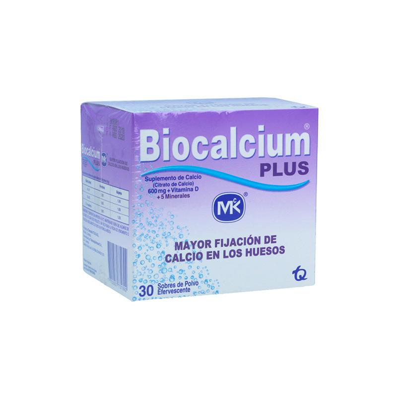 BIOCALCIUM PLUS POLVO HUESOS X 30SBS.MK