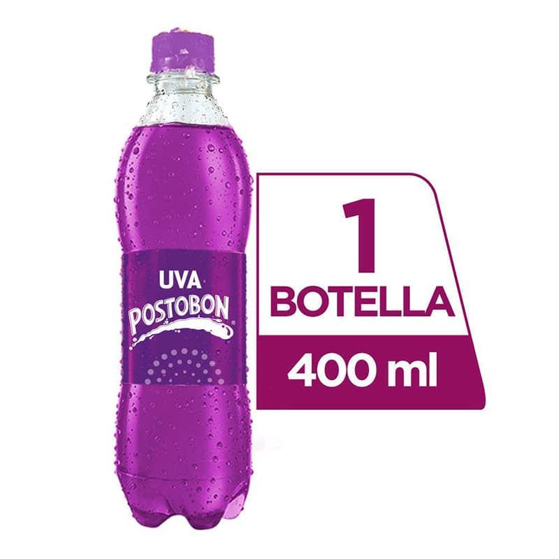 POSTOBON GASEOSA UVA X 400ML.PT