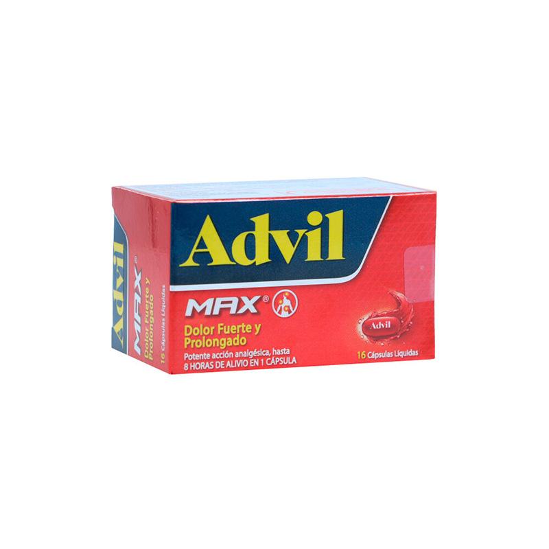 ADVIL MAX X 16CAP PF