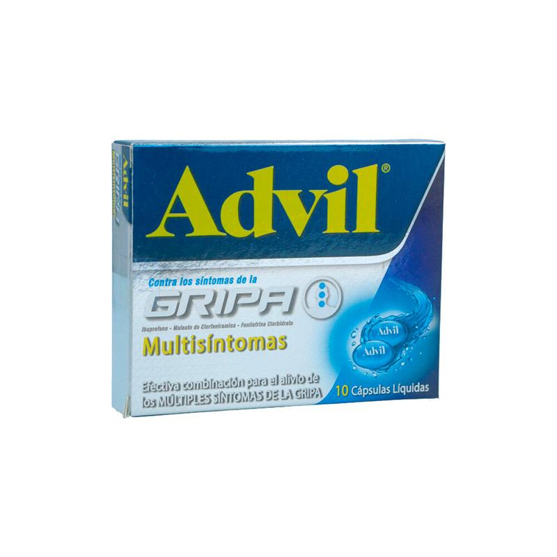 ADVIL GRIPA X 10CAP.PFIZER