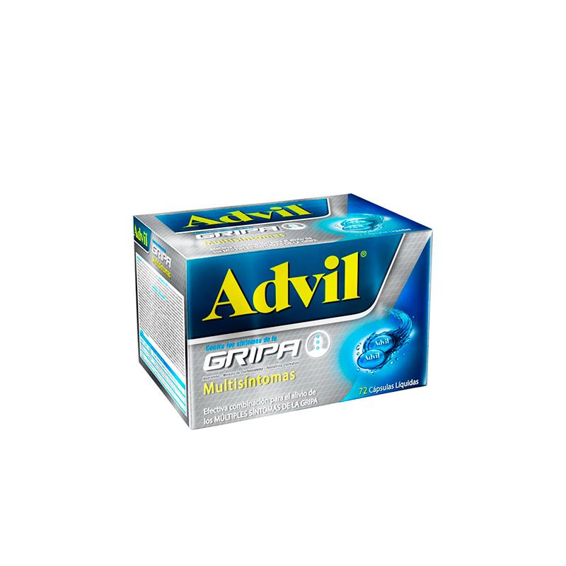 ADVIL GRIPA X 72CAP PF