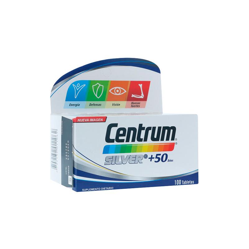 CENTRUM SILVER 50 AÑOS X 100TAB.PF
