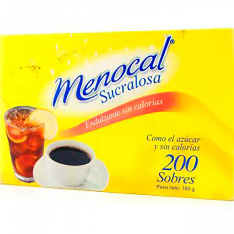 MENOCAL SUCRALOSA ENDULZ.SIN CALORIAS 200SBS X 160GR.EC