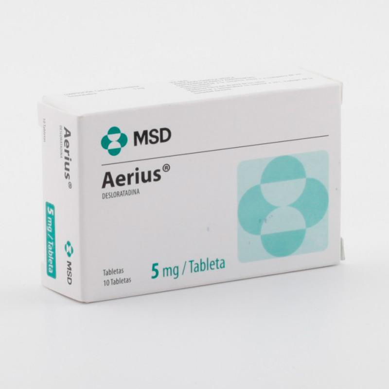 AERIUS 5MG X 10TAB.MSD