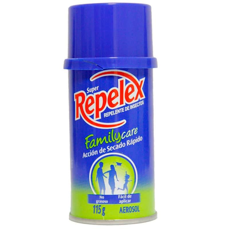 SUPER REPELEX REPEL. FAMILY CARE X 115GR.