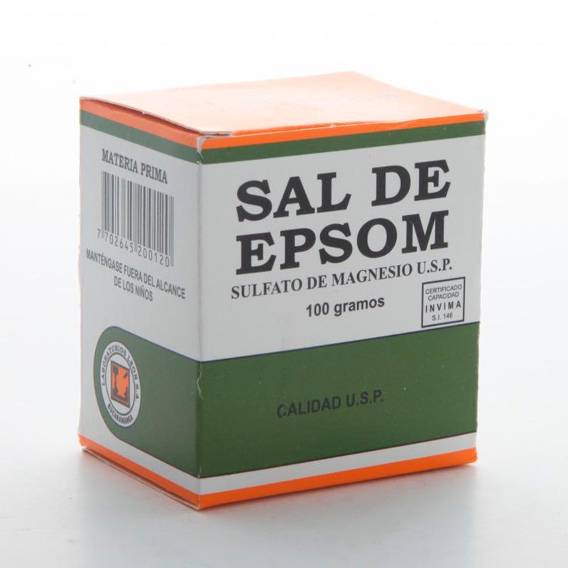 SAL DE EPSON X 100GR LL