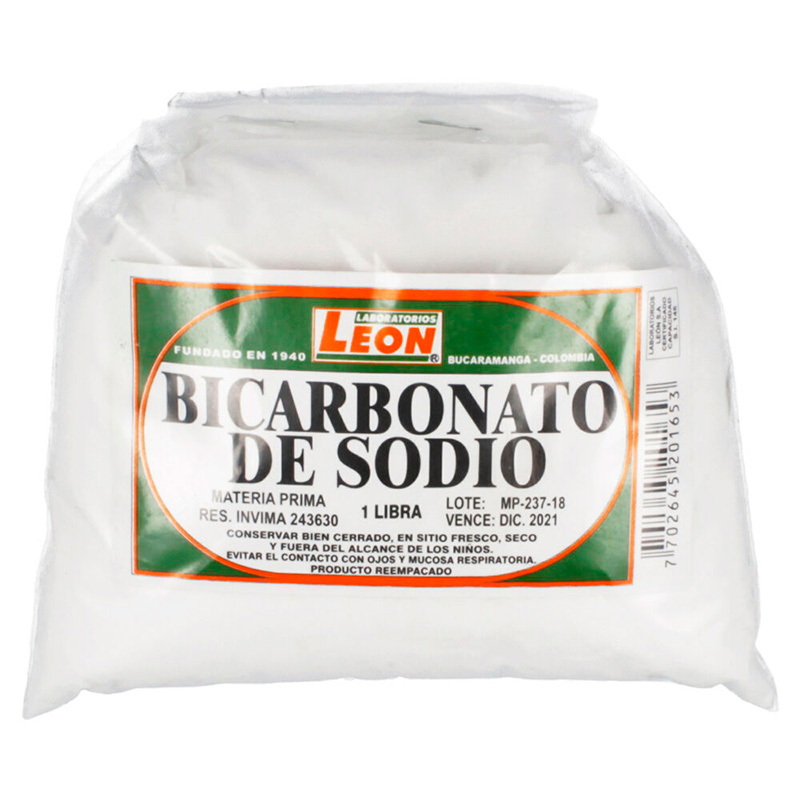 BICARBONATO DE SODIO 500 GR LEON