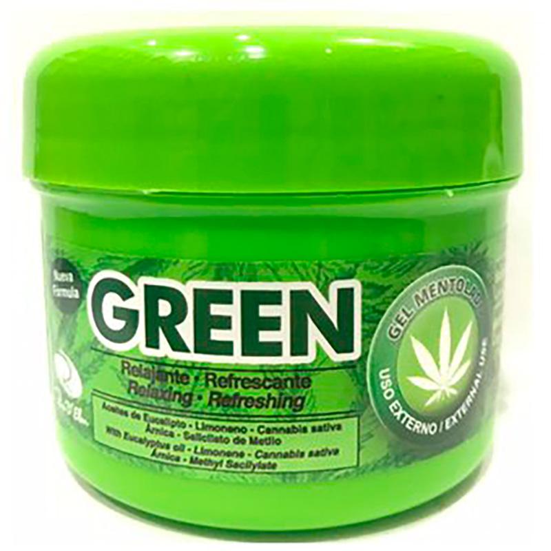 GREEN GEL MENTOLADO X 150GR RE
