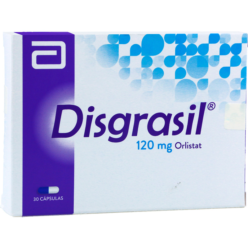 DISGRASIL 120MG X 30TAB.LF