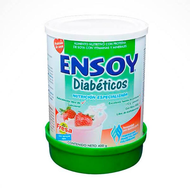 ENSOY DIABETICOS FRESA 400GR