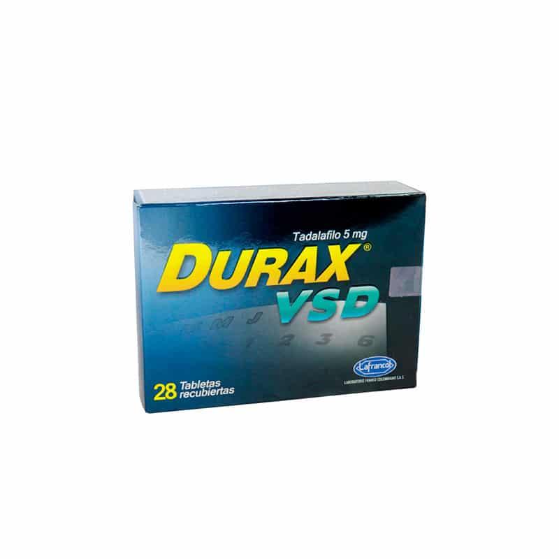 DURAX VSD 5MG X 28TAB.LF
